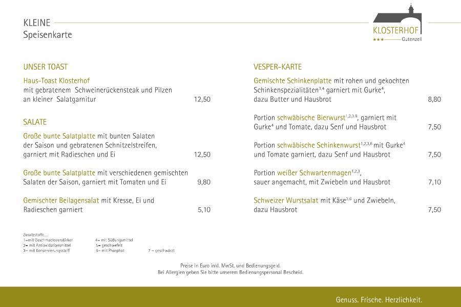 Vesperkarte - Klosterhof Gutenzell - 900x600